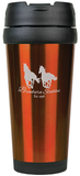 Gloss Travel Mug Orange