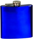 6oz  Stainless Steel Flask blue