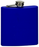 6oz  Stainless Steel Flask matte blue