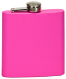 6oz  Stainless Steel Flask pink