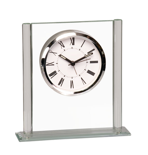 Square Glass Clock