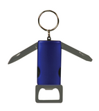 4-Function Bottle Opener with Keychain