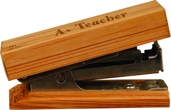 Bamboo Mini Stapler