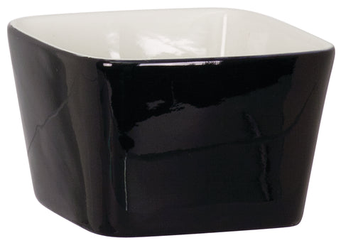 Small Black Ceramic Bowl black