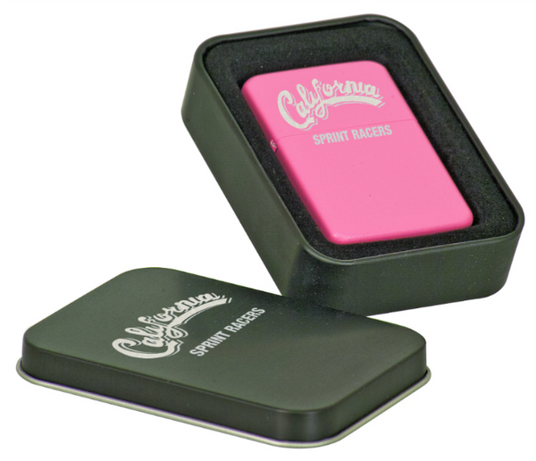 Laserable Lighter in Laserable Black Tin
