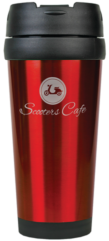 Gloss Travel Mug Red
