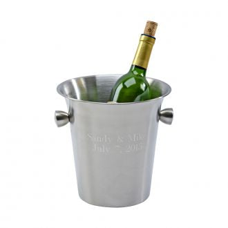 Matte Finish Wine Cooler with Knob Style Handles