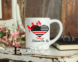 My Heart Serves Fireman Mug