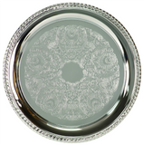 "Chrome Plated Tray (10"" & 12"")"