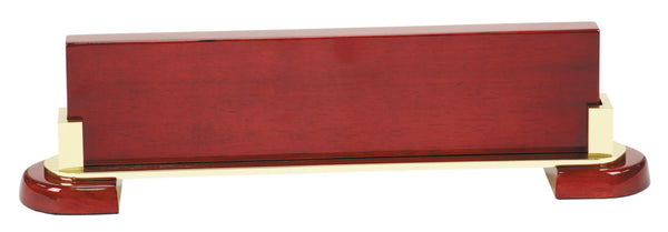 Rosewood Piano Finish & Metal Name Bar