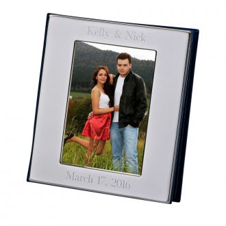 "5x7"" Polished Cover Album with Frame Style Cover"