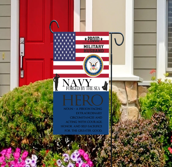 Navy Forged By The Sea Military Husband