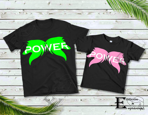 Power Wolf T-shirt Pink