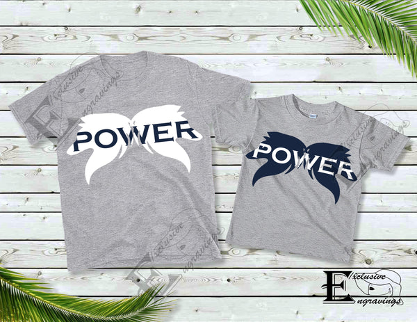 Power Wolf T-shirt Blue