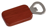 Magnetic Rectangle Bottle Opener Rosewood