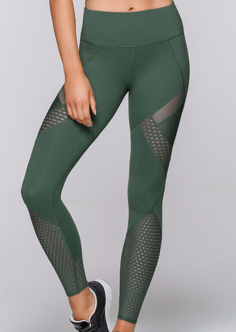 Alexa Core F/L FL Tights - Army grøn