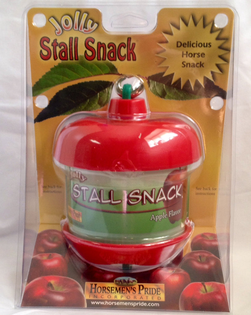 Stall snack toy - apple scented