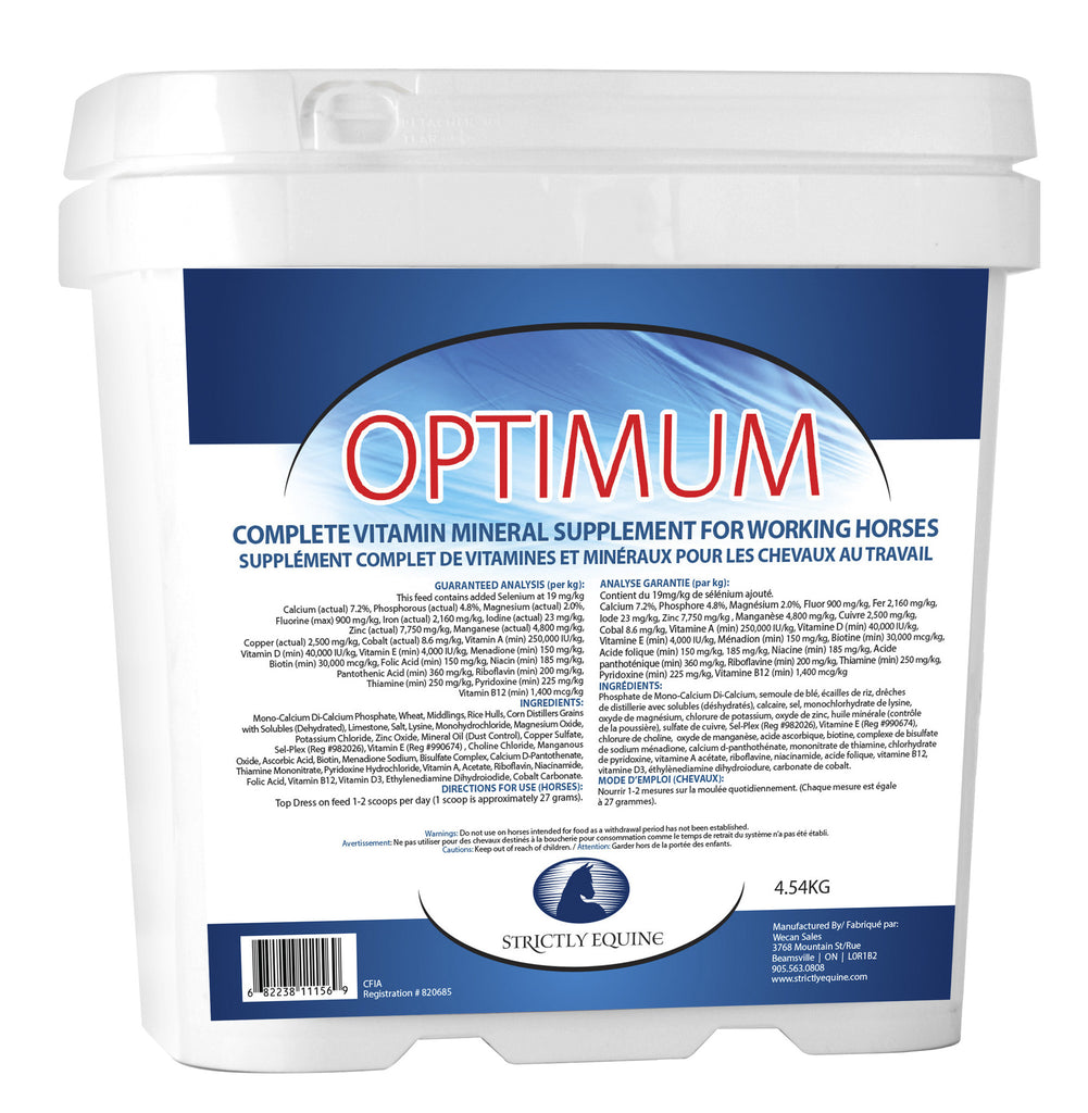Optimum Vitamin & Mineral Supplement