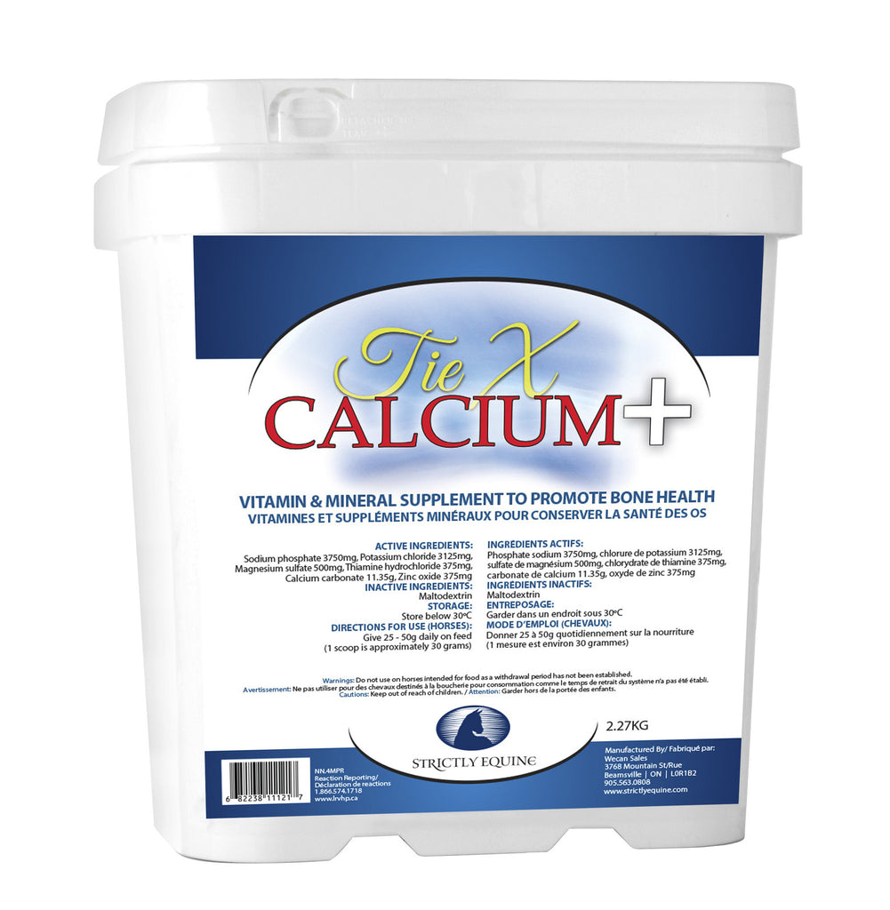 Tie-X Calcium Plus (Strictly Equine)