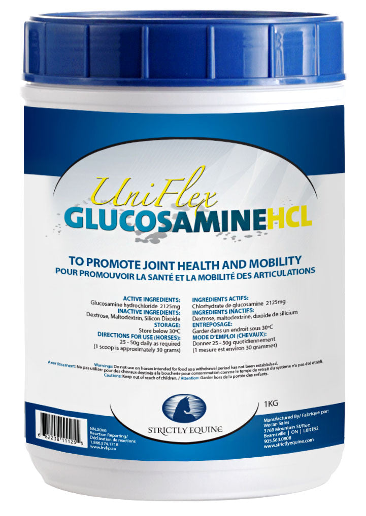 Uni Flex Glucosamine HCL (Strictly Equine)