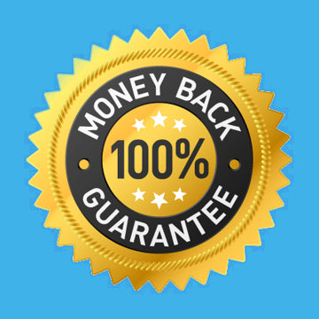100% money back guarantee star