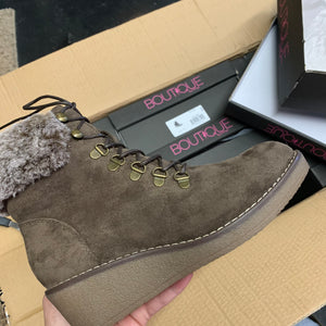 Chocolate Fox Bay Boutique Boot