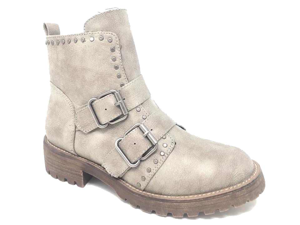 Maverick Booties by Very G in Cream