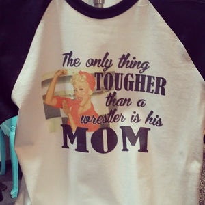 Tough Wrestling Mom