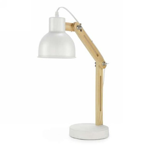 Lampe de table de couleur blanche