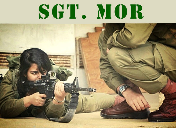 Sgt. Mor from the Israel Defense Forces