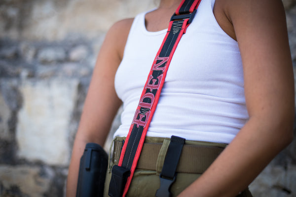 Customized Cloth rifle sling-RED