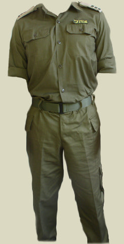 Israel Military Products IDF Israel Unisex Army Uniform Shirt and Pants