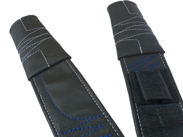Customized Leatherette Rifle Sling- Blue