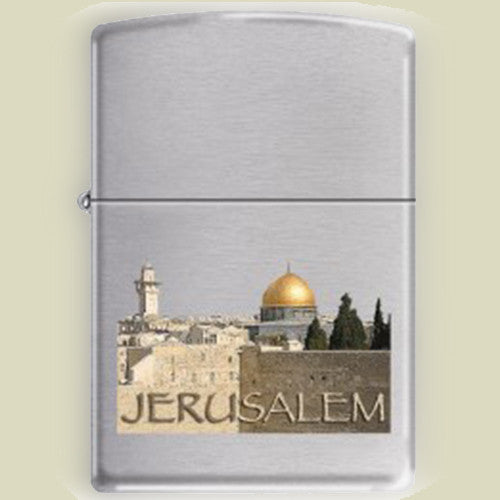 Israel Military Products Jerusalem Zippo Lighter