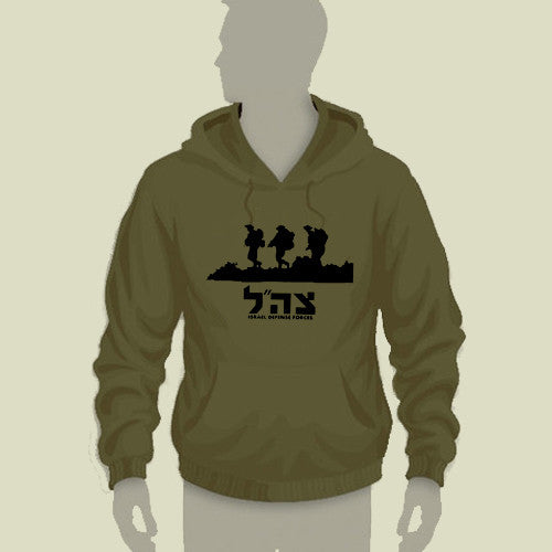 Israel Military Products Original Soldiers in Battlefield Hoodie