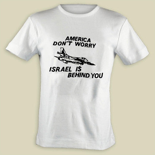 Israel Military Products Original America Do not Worry T shirt