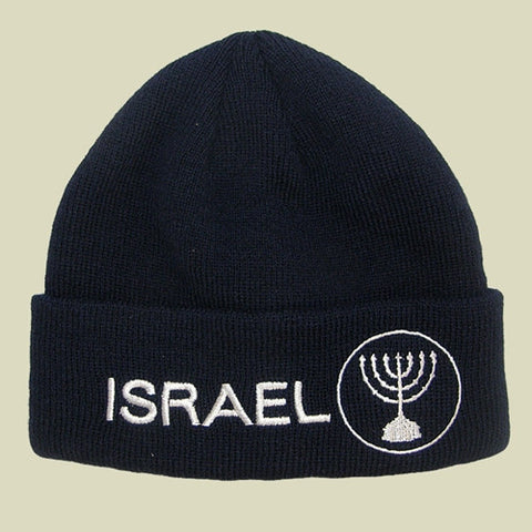 Israel Military Products Israel Menora Knitted Winter Watch Cap