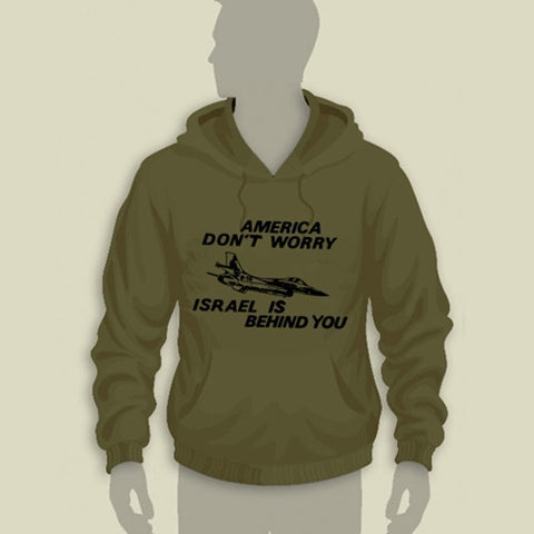 Israel Military Products Original America Do not Worry Hoodie
