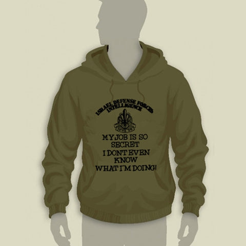 Israel Defence Forces Original Inelligence Corps Hoodie