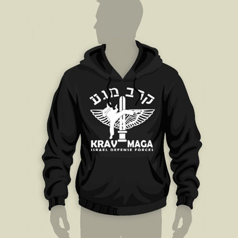 Israel Defence Forces Original Krav Maga Hoodie
