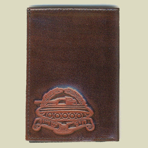 Israel Military Products Armored Corps Army Leather Wallet