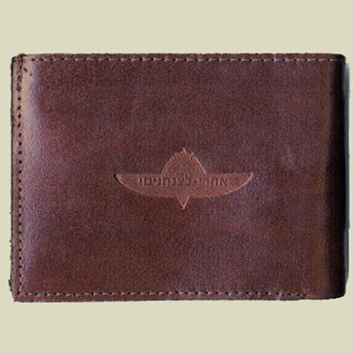 Israel Military Products IDF Jump Wings Army Leather Wallet