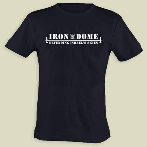 Israel Military Products Original Iron Dome Defending Israel Sky T shirt