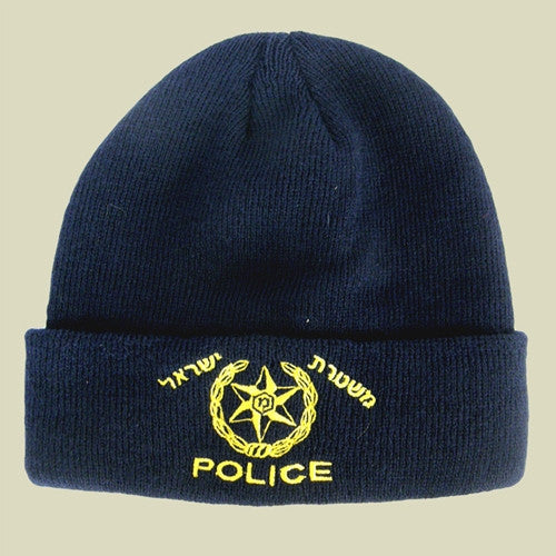 Israel Military Products Israel Police Knitted Winter Watch Cap