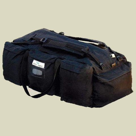 Black /Green Paratroopers Duffle Bag- Chimidan-Elite