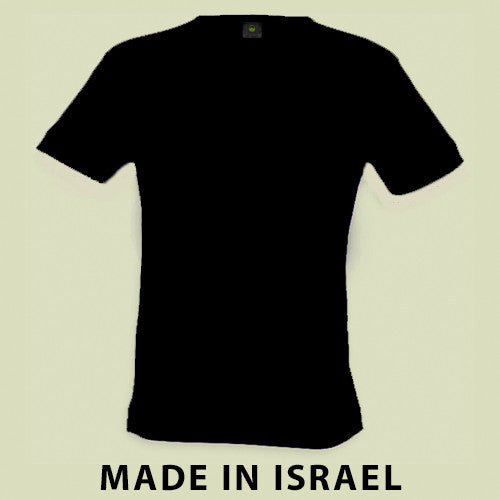 Israel Military Products - Black Original Plain T shirt