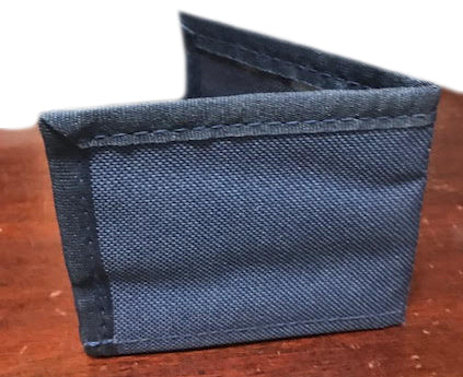 Soldier Wallet-Plain -Blue
