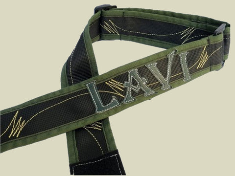Customized Cloth Rifle Sling- Green