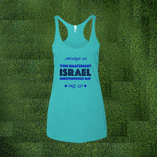 Israel Women Slim Fit Tank Top