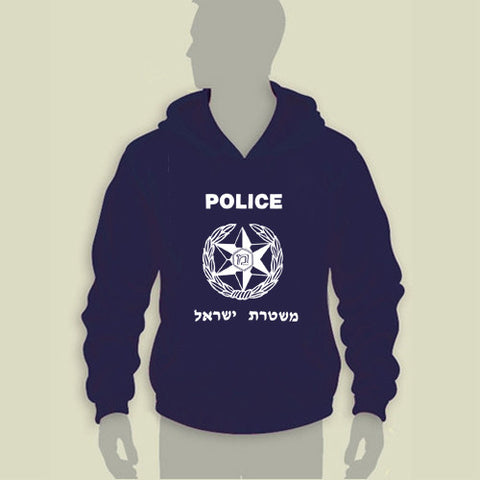 Israel Military Products Original Israel Police Hoodie